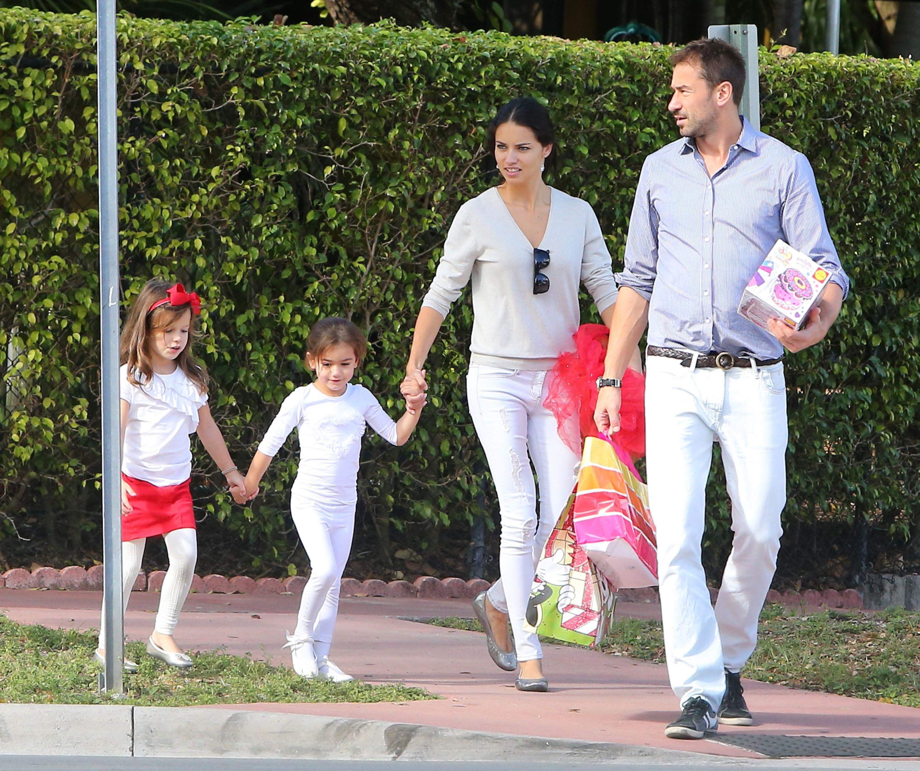 Adriana Lima Family
