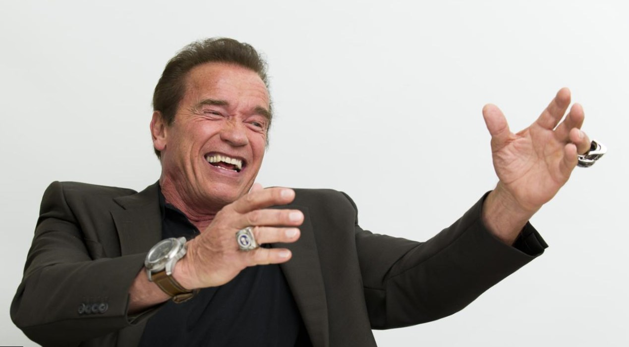 Arnold Schwarzenegger  Height, Weight and Body Measurements