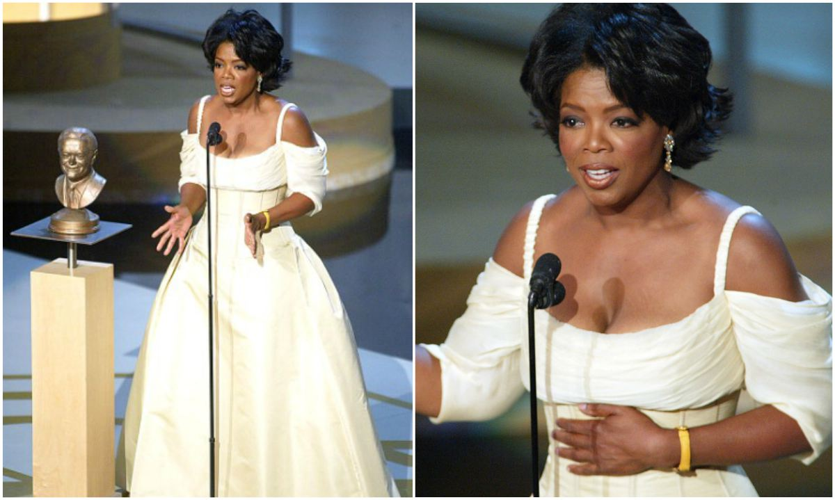 Oprah Winfrey weight loss in 2002