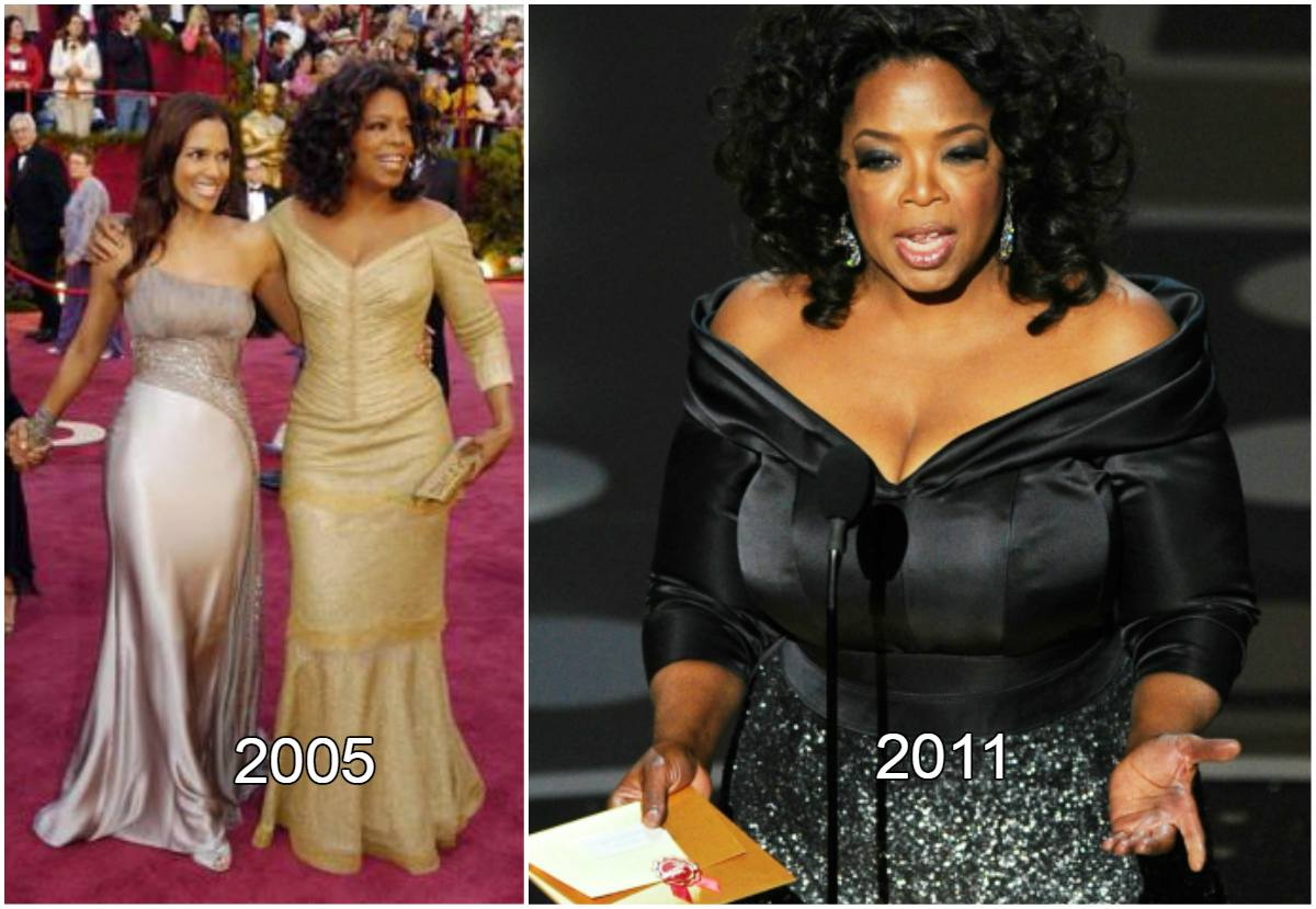 Oprah Winfrey 77th Academy Award Ceremony weight loss
