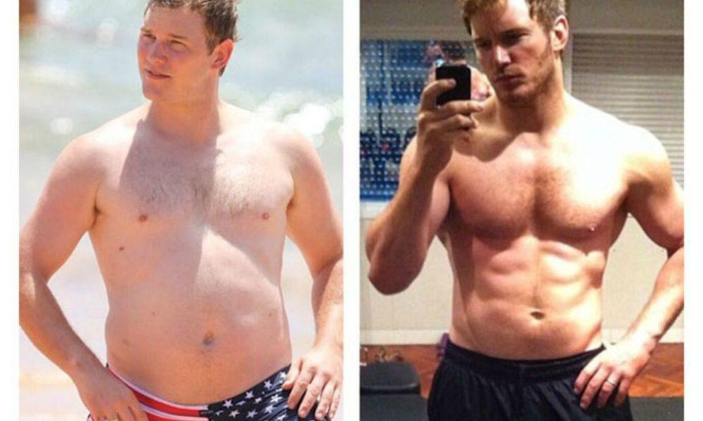 Chris Pratt to prove the good body shape. His story of