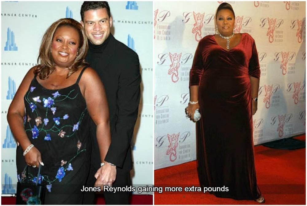 jones reynolds gaining weight