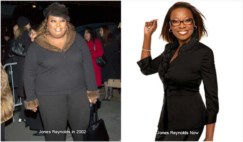 Star Jones Reynolds weight before and after surgery