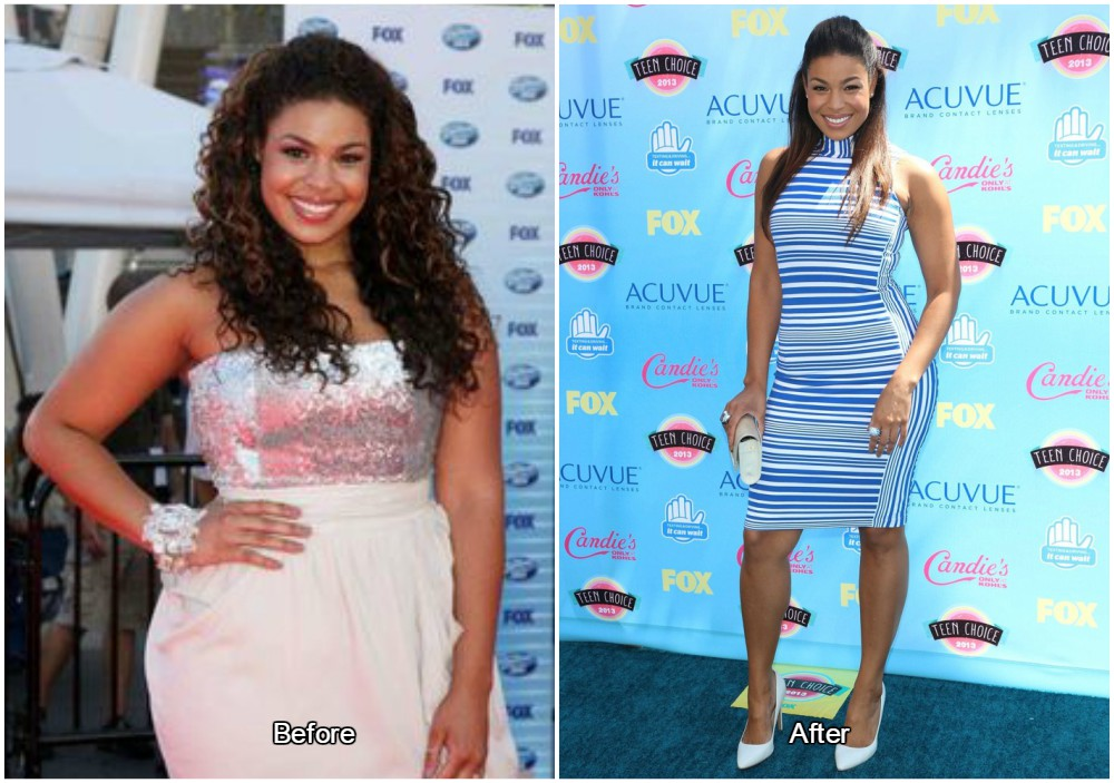 jordin sparks weight was around 155-160 pounds (67-69 kilos)
