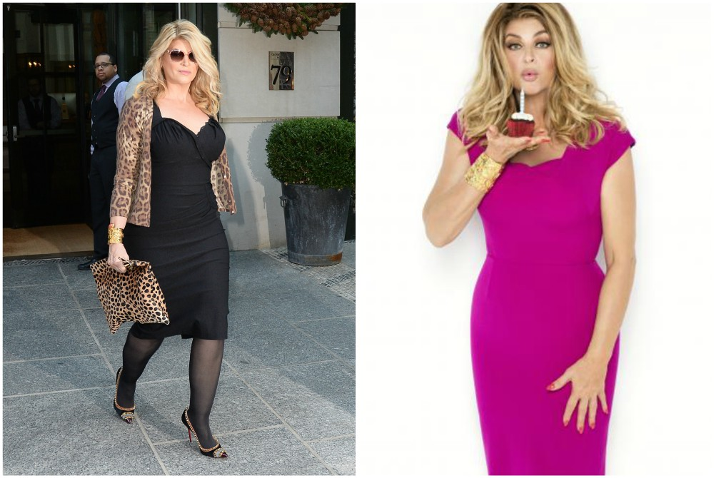 Kirstie Alley`s weight loss
