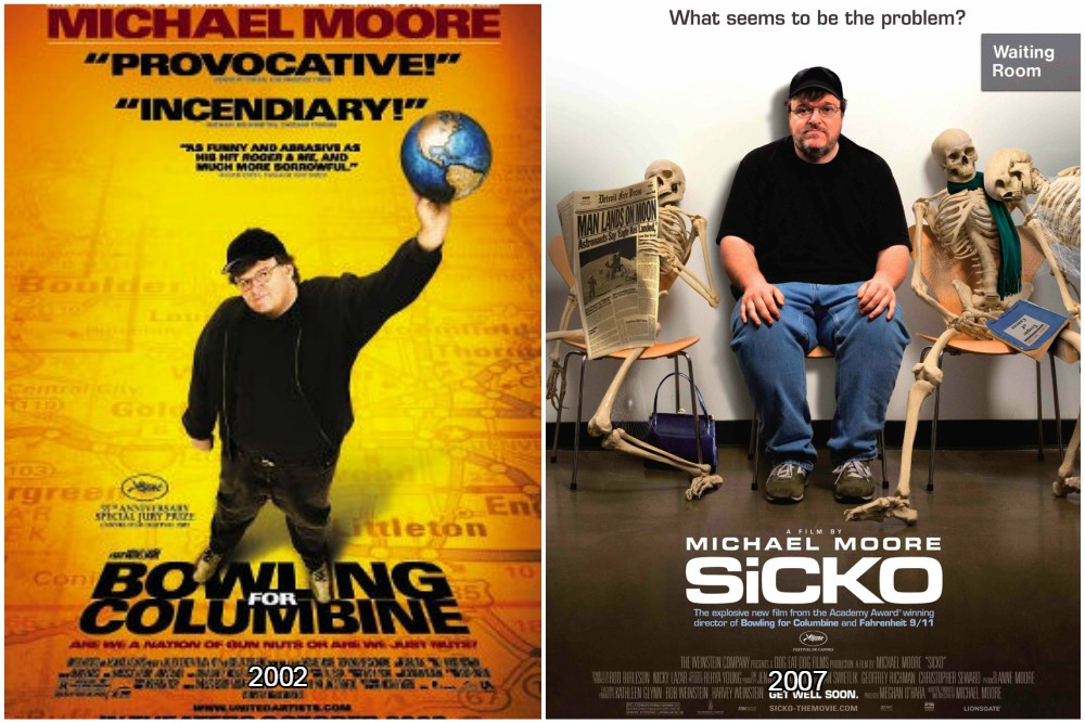 michael moore overweight