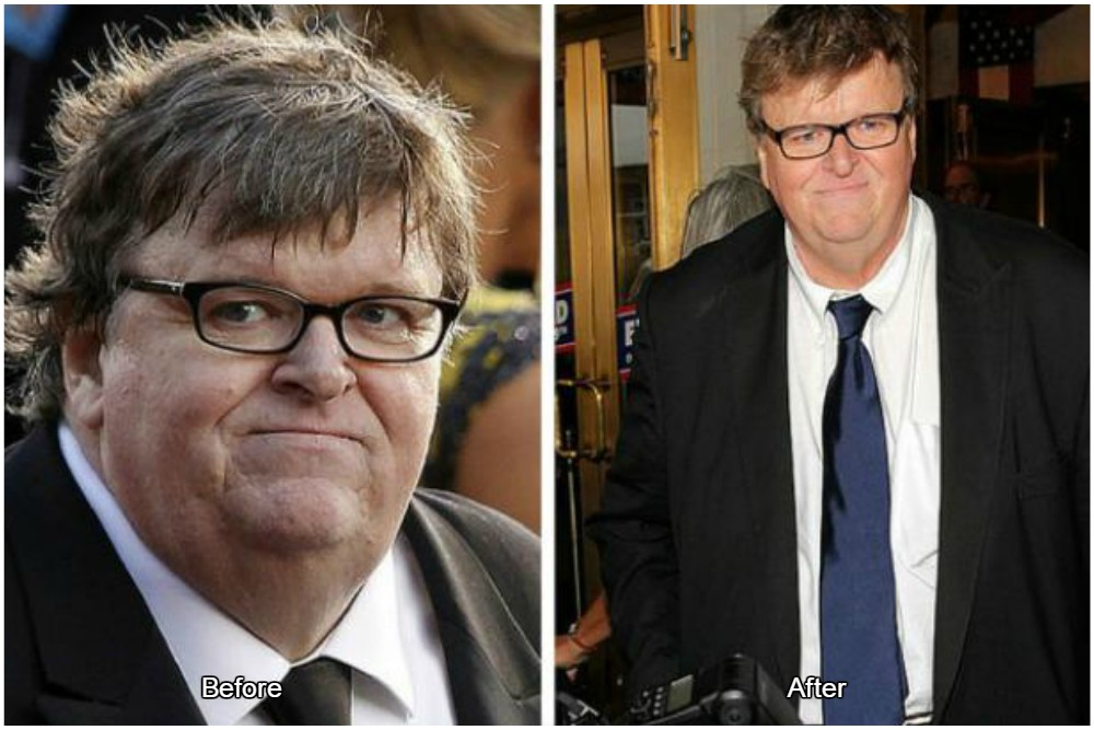 michael moore on his way to the healthy life