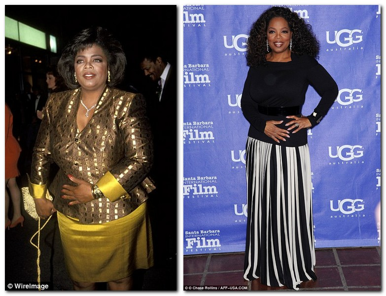 Oprah Winfrey's weight loss