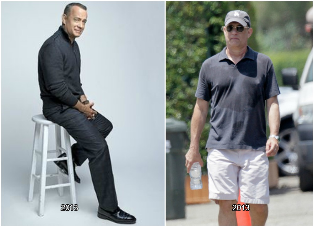 Tom Hanks to experience the weight swings throughout the ...