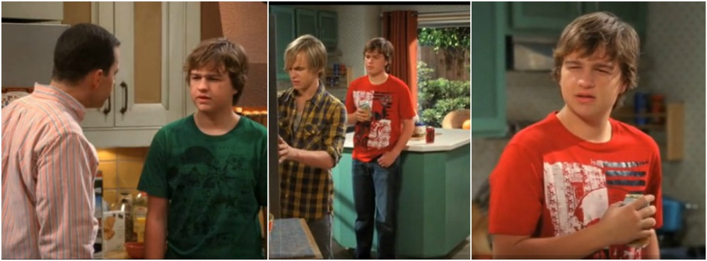 Angus T Jones best movie and TV roles - Two and a half man, season 8, episode 1, 2010