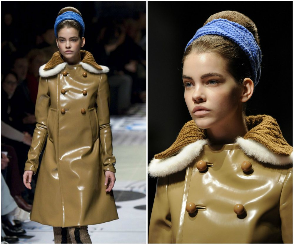 Barbara Palvin start of model career - catwalk at Milan Fashion Week, 2010