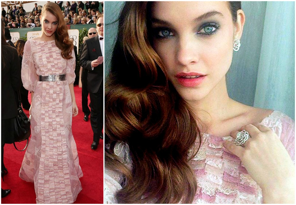 Barbara Palvin start of model career - Golden Globe Award ceremony, 2013