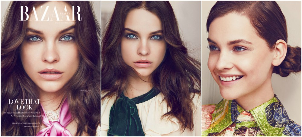 Barbara Palvin start of model career -  September Harper`s BAZAAR UK,2016