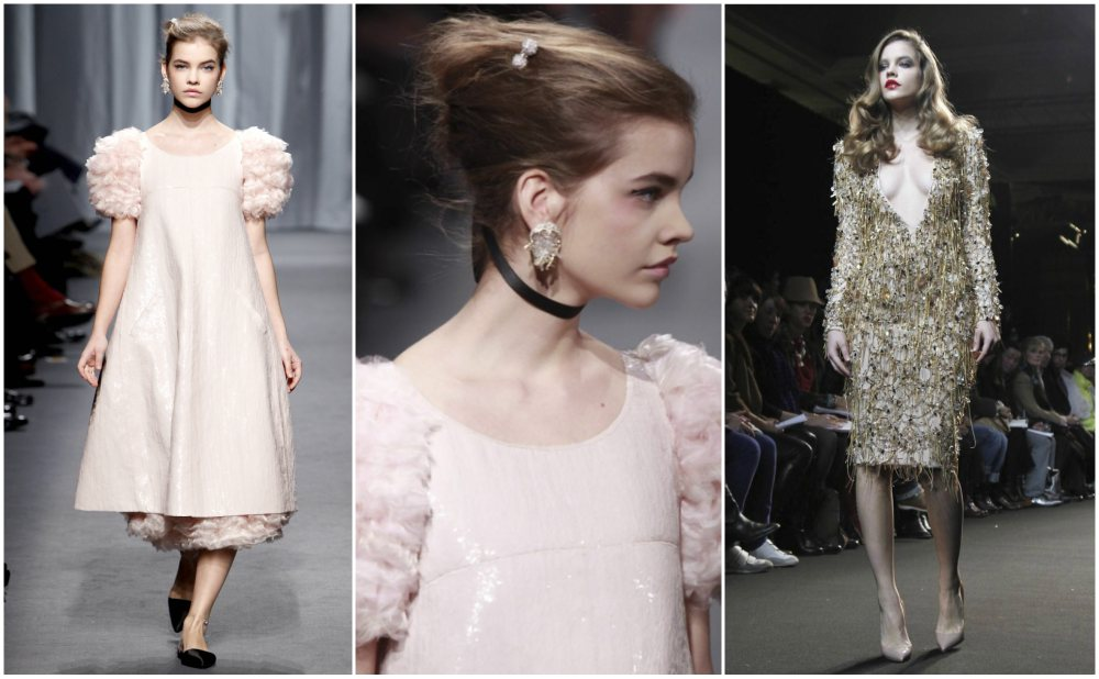 Barbara Palvin start of model career- Chanel Haute Couture Spring/Summer 2011 show