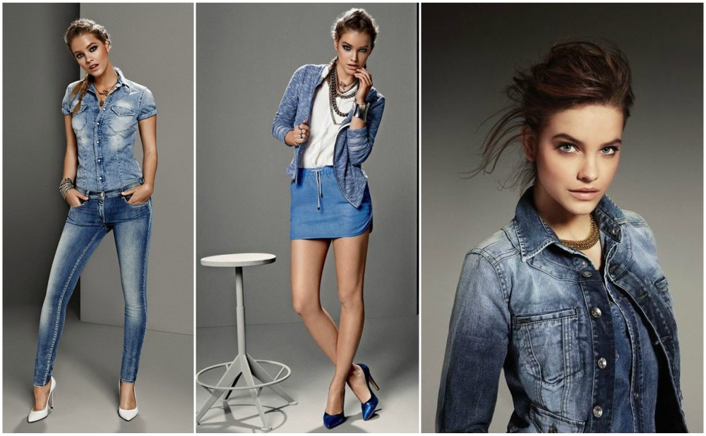 Barbara Palvin start of model career - Gas jeans, 2013