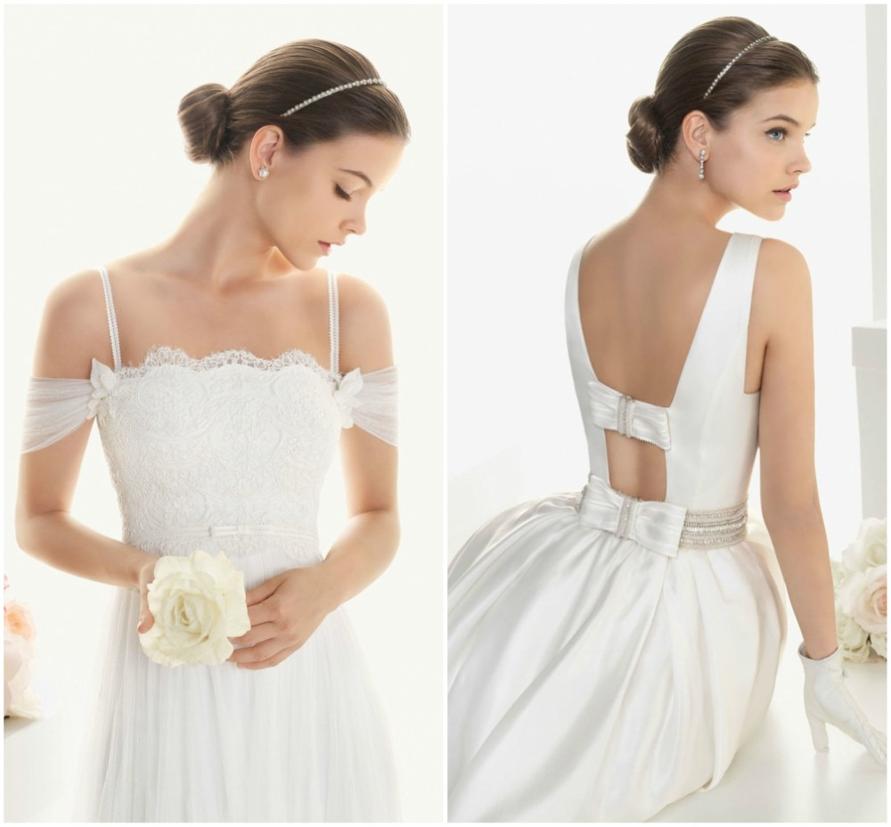 Barbara Palvin start of model career - Rosa Clara Bridal collection, 2012
