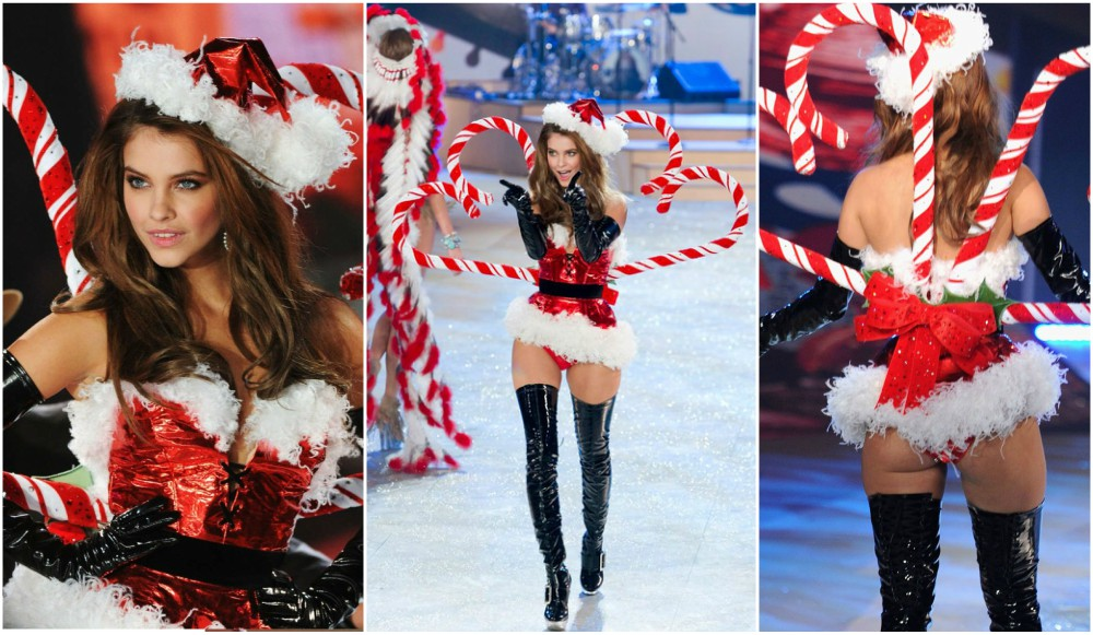 Barbara Palvin start of model career - catwalk at Victoria`s Secret show, 2012