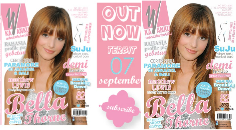 Bella Thorne magazine cover - Kawanku, 2011