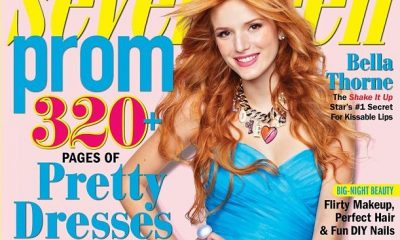 bella thorne magazines covers