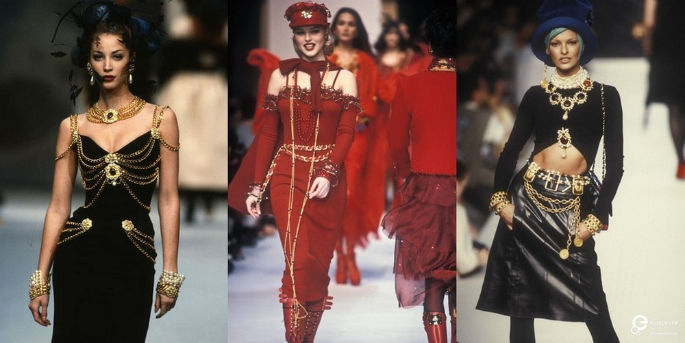Flashback - Karl Lagerfeld: 1992/93 – Autumn-Winter: The 1930s Meet 1970s