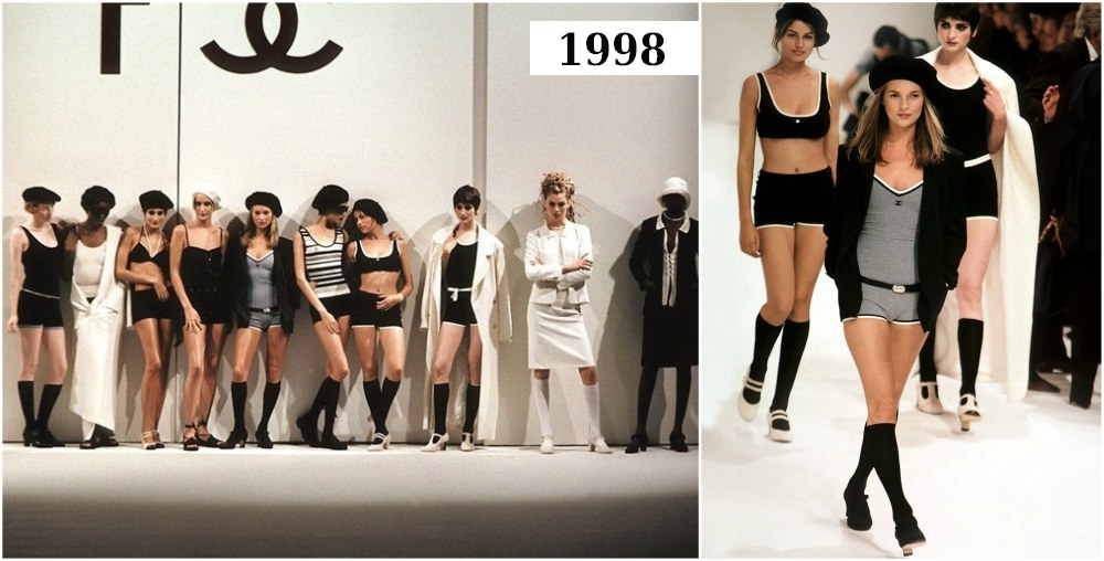 Flashback. Karl Lagerfeld - 1998 – Spring-Summer collection: 60 Years of Coco