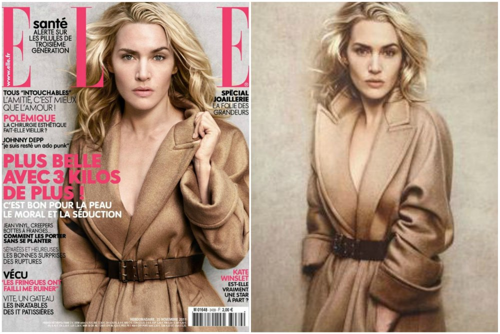 kate winslet magazines covers elle france november 2011