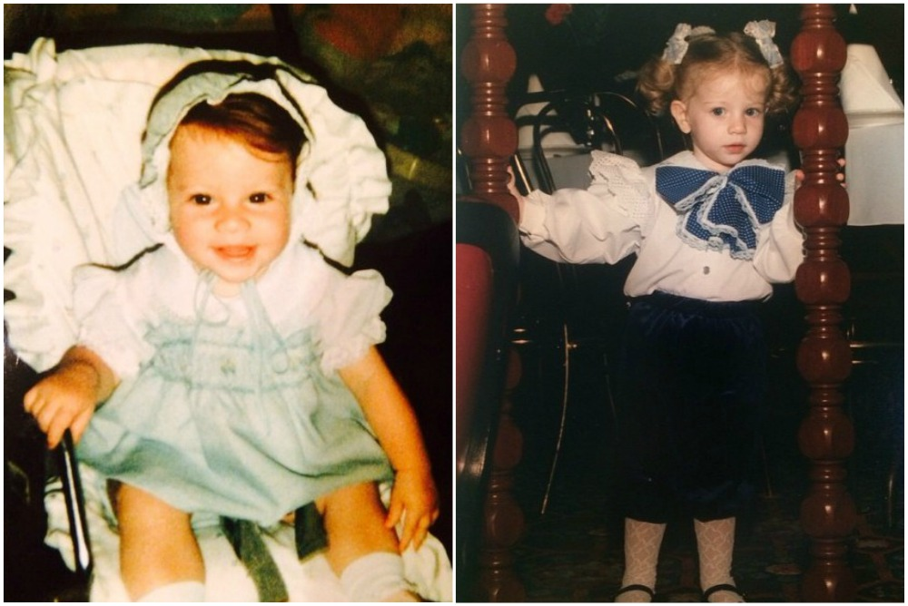 Michelle Trachtenberg`s adorable childish photos