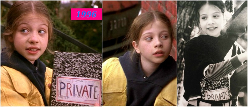 Michelle Trachtenberg`s best roles - Harriet The Spy, 1996