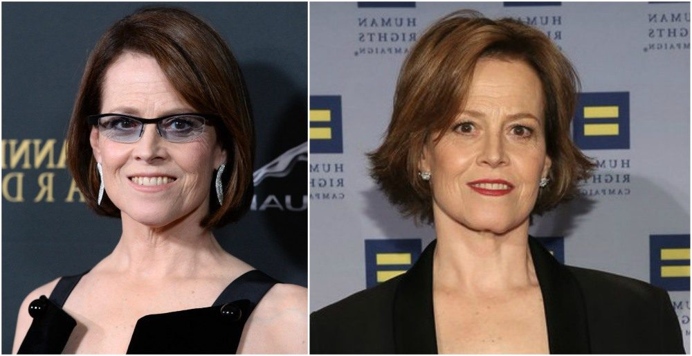 Sigourney Weaver and her haircuts throughout career