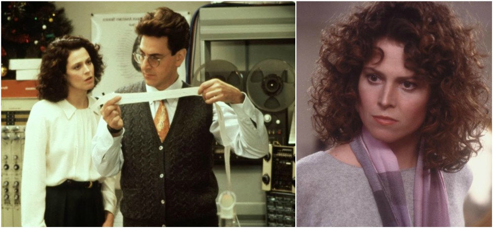 Sigourney Weaver hairstyle in movie Ghostbusters,1984