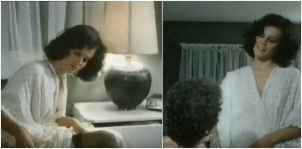 Sigourney Weaver hairstyle in movie Madman, 1978