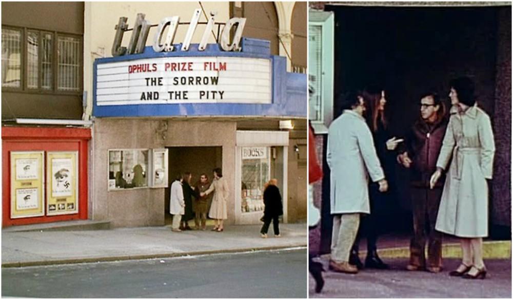 Sigourney Weaver hairstyle in movie Annie Hall, 1977