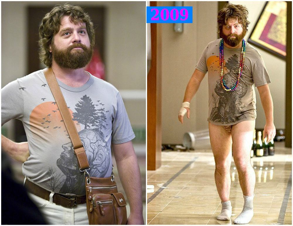Red carpet to change people: Zach Galifianakis weight loss