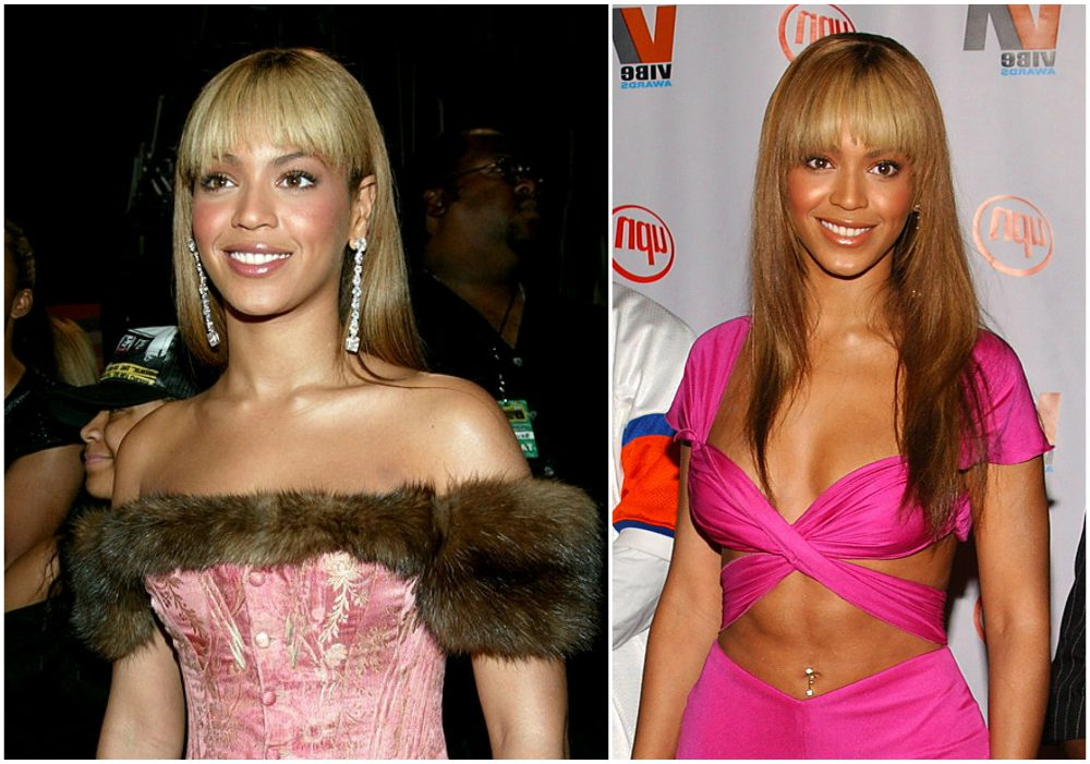 Beyonce hairstyles timeline - year 2003