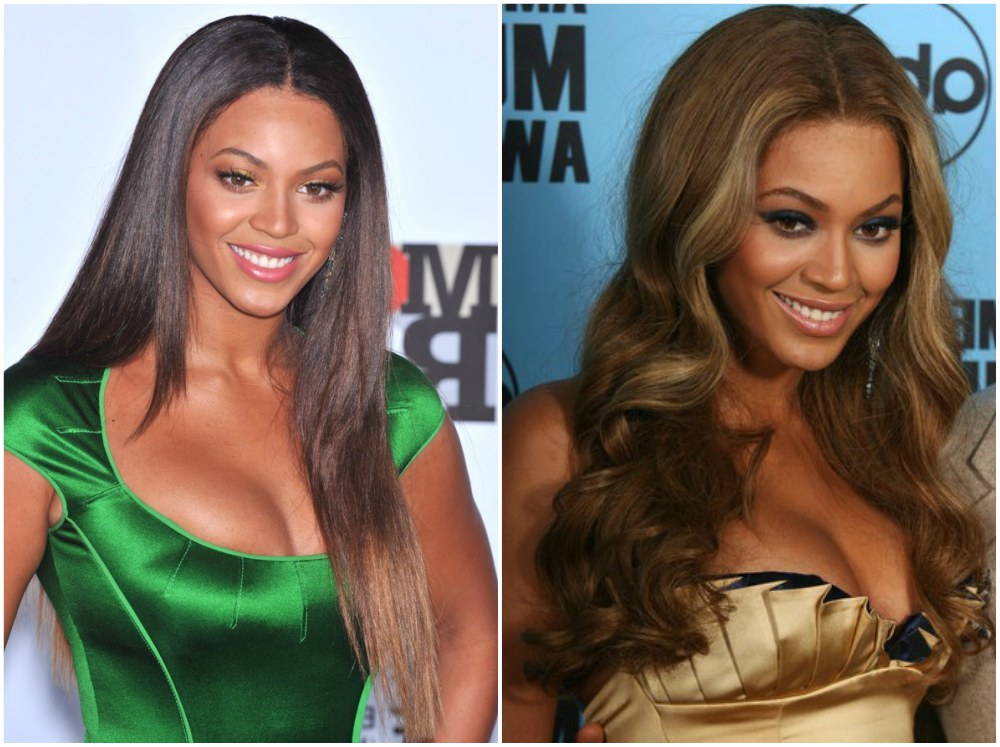 Beyonce`s hairstyles timeline - year 2007