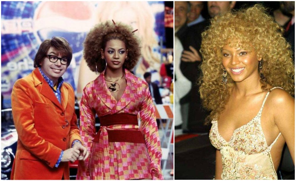Beyonce hairstyles timeline: Austin Powers Goldmember, 2002