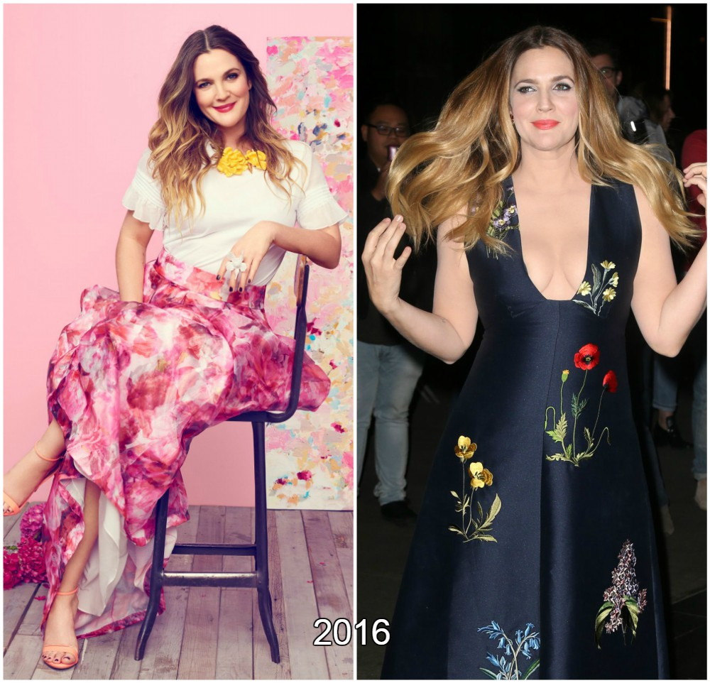 Drew Barrymore looking great in 2016