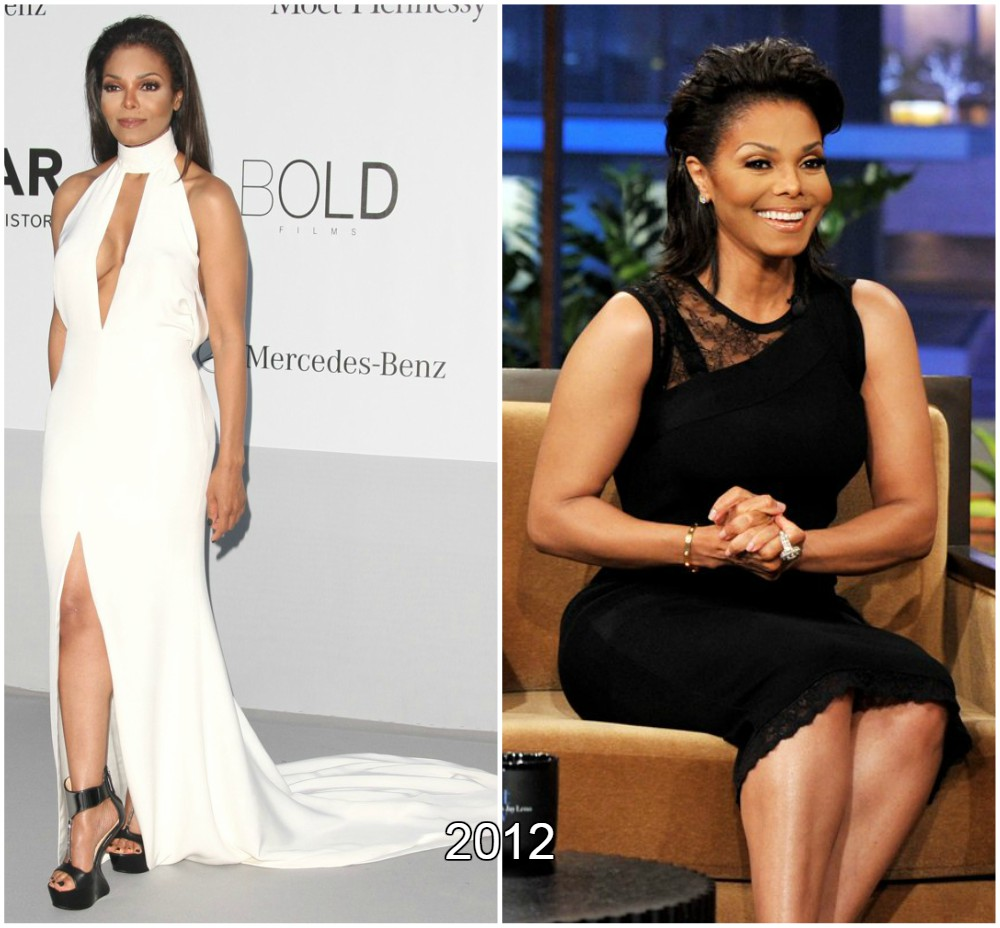 Janet Jackson weight loss in 2012