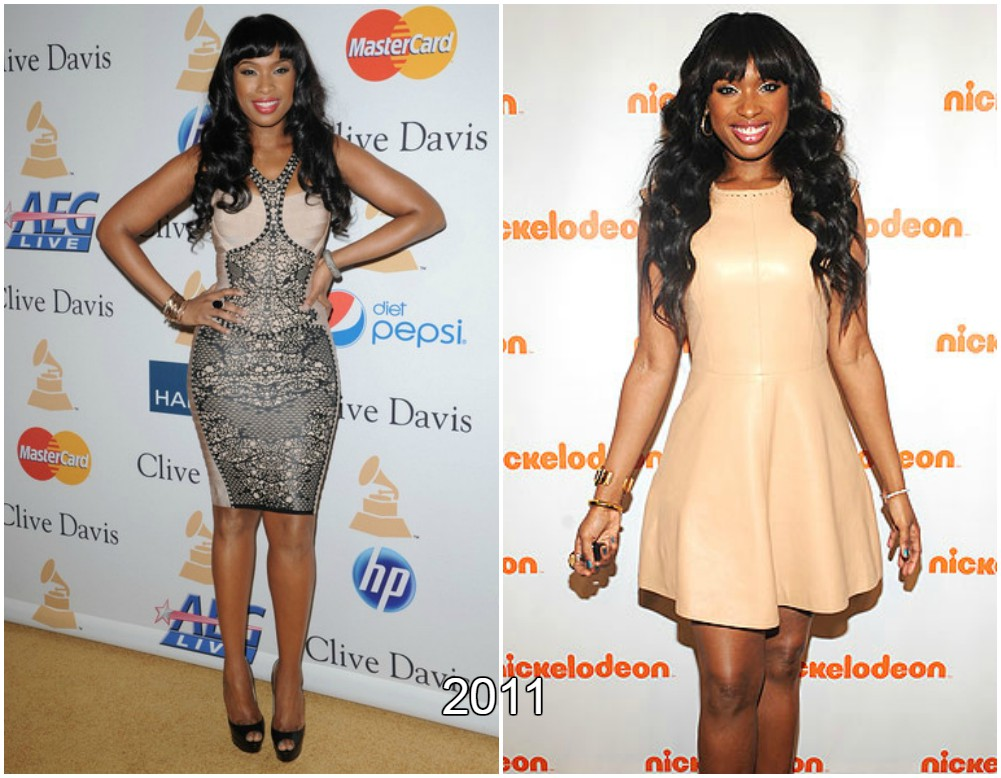Jennifer Hudson  weight loss in 2011