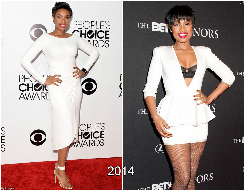 Jennifer Hudson loss some more weight in 2014