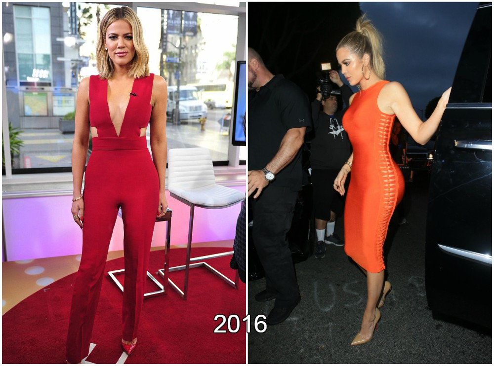 Khloe Kardashian weight loss in 2016