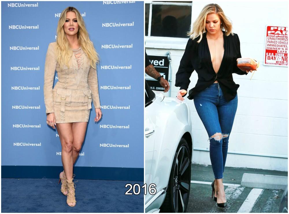 Khloe Kardashian loss extra kilos in 2016