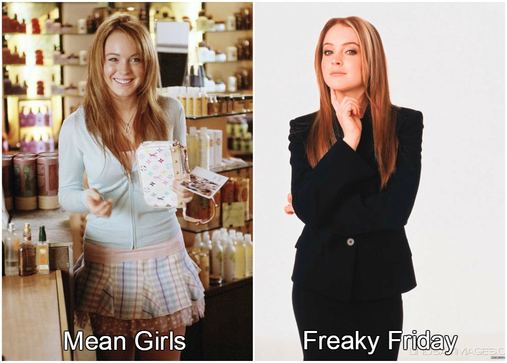 Lindsay Lohan slim and perfect in 2004