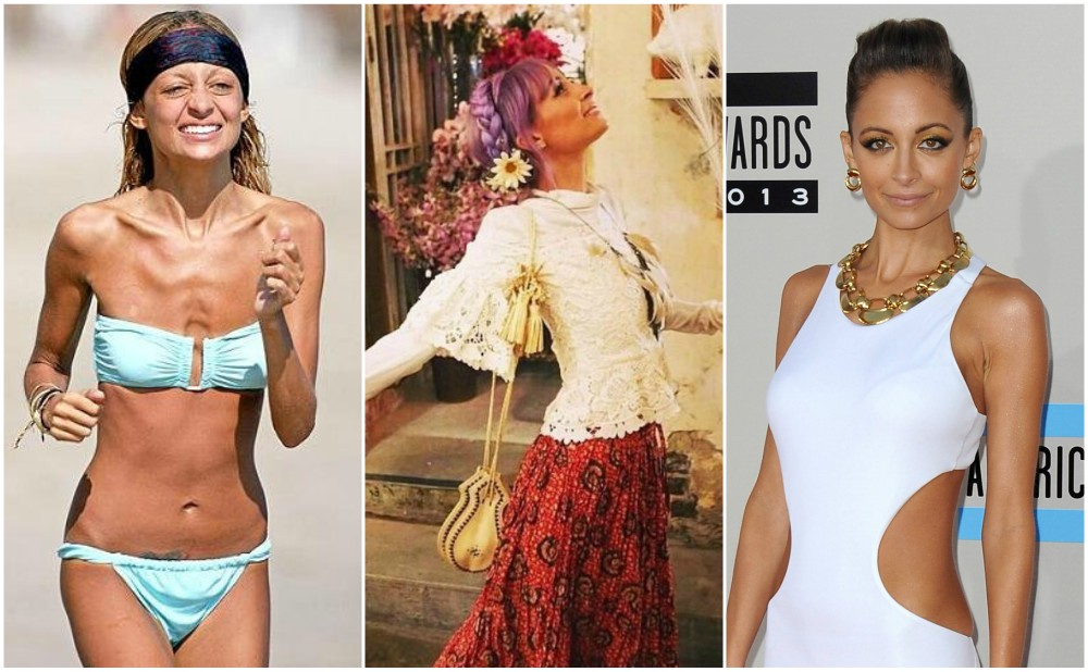 Nicole Richie weight loss in 2014