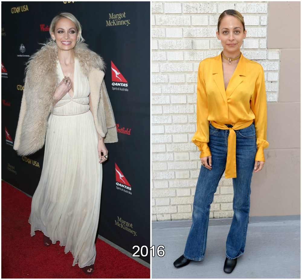Nicole Richie gained some weight in 2016
