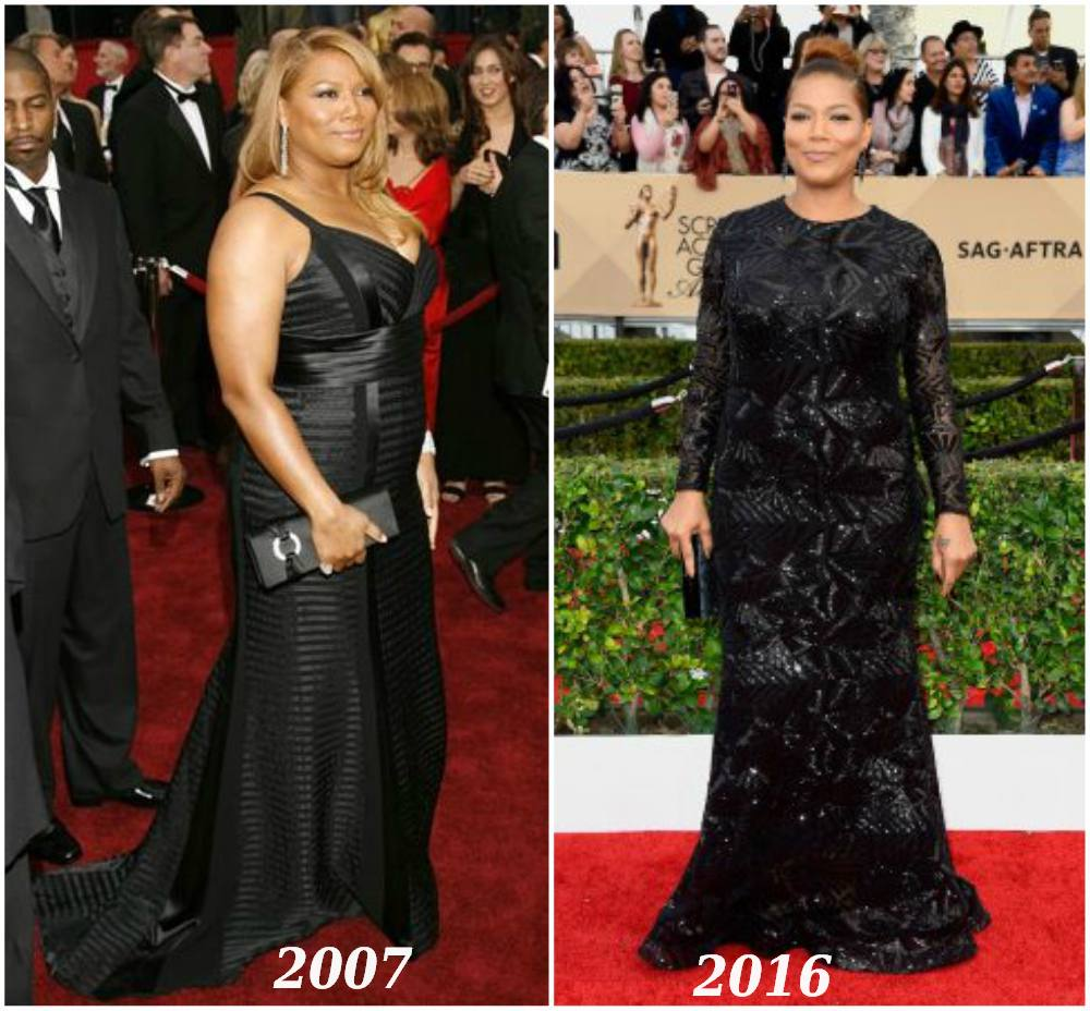 Queen Latifah weight loss - before and after