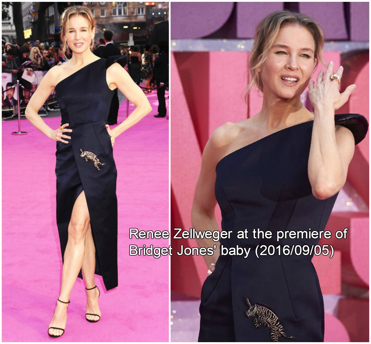 Renee Zellweger is in great shape at 'Bridget Jones' Baby' Premiere 9/5/2016