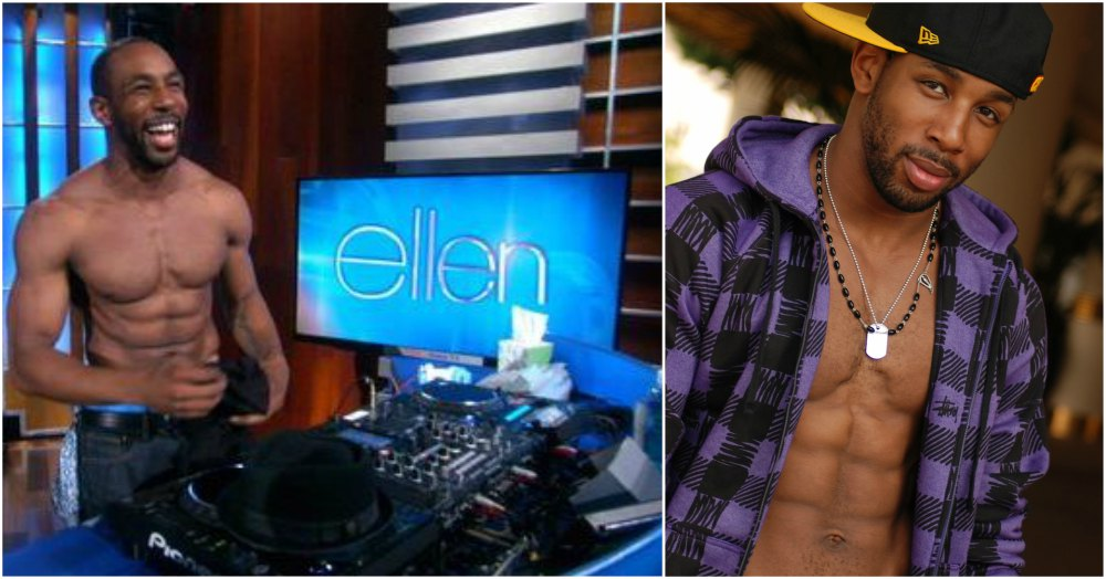 Stephen Twitch Boss best topless appearances