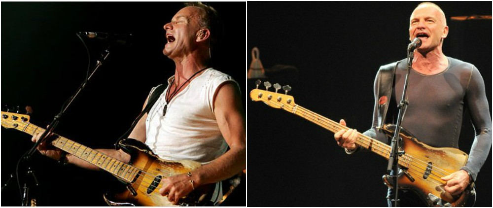 Sting`s the most bright and most famous concerts ever held