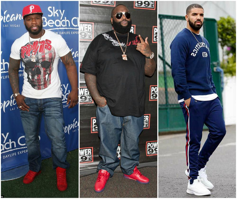 The height chart in Rap. From shortest to tallest rappers